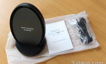 クーポンあり、EnacFire Qiワイヤレス充電器『S400』製品レビュー