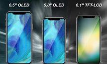 次期iPhoneシリーズ3モデル、ノッチなし6.1インチ版やRAM4GB搭載X Plusなど