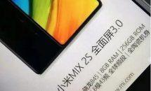 Xiaomi Mi MIX 2Sの画像リーク、日本のプラチナバンド対応など主要スペック判明か