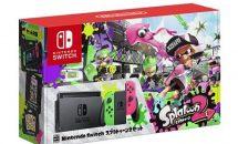 Nintendo Switch スプラトゥーン2セット再販分の予約開始、特典イカすスタートガイド付き