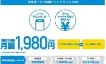 ヤマダ電機MVNO、『ヤマダニューモバイル かけ放題パックプラン(2.0GB)』発表