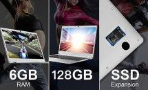 14型Teclast F7のSSDモデル登場、RAM6GB+128GBのスペックで低価格を実現