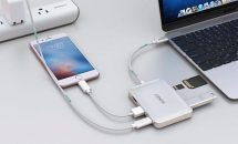 5/5より先着200台クーポン、AUKEY 7ポートPDF対応USBハブ「CB-C59」