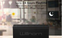 (終了)5/2限り、Willnorn SoundPlus ポータブルBluetoothスピーカーなどが値下げ中―Amazonタイムセール