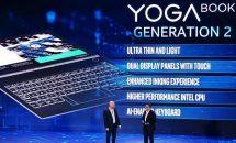 次世代ノートPCは2画面が主流に!? Lenovo YOGA BOOK 2発表 #Computex2018