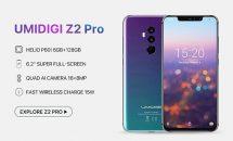 UMIDIGI Z2 Proの発売日は7月、容量128GBなど無印Z2とのスペック比較・違い