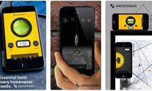 通常120円の水平器・分度器などを揃えたツールキット『Handy Tools for DIY PRO』が無料に、iOSアプリ値下げ情報 2018/6/26