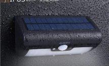 先着300台限定、防水IP65人感・ソーラーライト『AUKEY LT-SL2』に61%OFFクーポン