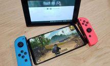 6.9型honor Note 10の実機画像リーク、Nintendo Switchと大きさ比較