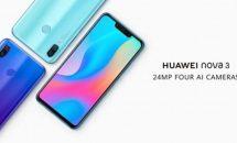 6.3型『Huawei nova 3』正式発表、スペック・価格