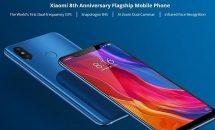 SBプラチナ対応の8周年スマホ『Xiaomi Mi 8』に早くもクーポン、RAM8GB+128GB