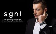 指先で通話できる時計バンド『Sgnl』(シグナル)登場、Apple Watchなどに装着可