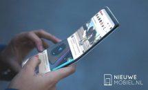 サムスン折り畳みスマホ「Galaxy X」特許情報のコンセプト画像