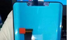 Huawei Mate 20のフロントパネルがリーク、ノッチ付きで3D顔認証・ディスプレイ指紋など