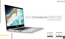 """ASUS、Chromebook C423(14"""""""") / C523(15.6"""""""")発表–動画・スペック"""