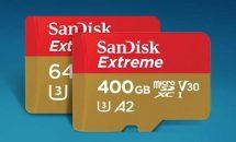 サンディスク、最大400GB/読み取り90MB/sのA2対応microSDカード発表・発売日