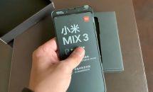 Xiaomi Mi Mix 3の開封~ハンズオン動画、手動スライドカメラで素早く撮影