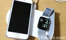 iPhoneとApple Watch同時ワイヤレス充電にクーポン、Banggood商品レビュー
