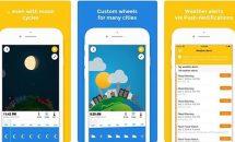通常480円のイラストで見やすい気象情報『WeatherWheel: Alerts, Forecast』などiOSアプリ値下げ中 2018/11/29