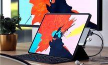 iPad ProをノートPC並みに拡張、Satechi製USB-Cハブが発売・価格