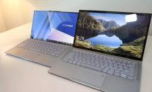 ベゼルレス13.9型『ASUS ZenBook S13』のハンズオン動画、指1本で開くなど