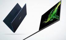 僅か890gの14型ノート『Acer Swift 7』(SF714-52T)発表、スペック・動画