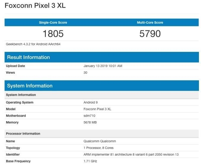 Google-Pixel-3-Lite-XL-benchmark