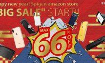 Spigen製品が最大66%オフ、Amazon初売りでiPhoneケースなどが24時間限定セール中