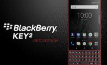 物理キー搭載4.5型『BlackBerry KEY2 RED EDITION』の発売日が決定