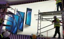 折り畳み画面スマホ『Huawei Mate X』のポスターがリーク