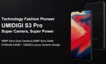 低価格でdocomoプラチナ対応『UMIDIGI S3 Pro』がINDIEGOGO登場、RAM6GBやSONY 48MPカメラなどスペック