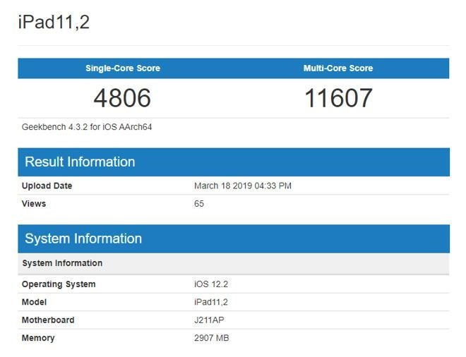 Geekbench-iPad-mini-5