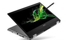 Acer、ペン収納できる14型ノート『Spin 3』発表・価格・発売時期