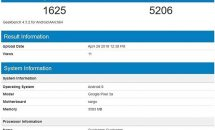 Google Pixel 3a / Pixel 3a XLがGeekbenchに登場、RAM4GBにSnapdragon 670搭載か
