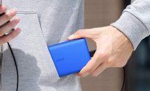 初回200台限り、Ankerが小さな大容量13000mAhモバイルバッテリーに新色ブルー追加でクーポン配布中