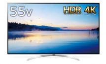 (終了)5/10限り、LG製4K対応55V型 液晶テレビが特選商品など値下げ中―Amazonタイムセール