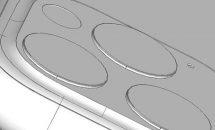次期iPhoneのCADデータ画像がリーク、iPhone 11 Maxのレンズは黒色