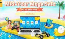 最大80%OFF、GearBestが大規模セール「Mid Year Mega Sale」開始