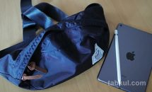 iPad miniが入って折り畳める「Rename ウエストバッグ」が便利だった話