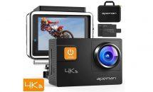 (終了)7/11限り、4Kアクションカメラが6980円など値下げ中―Amazonタイムセール