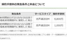 LINEモバイルの解約手数料が9800円から1000円に値下げ、回線変更の受付停止などが発表