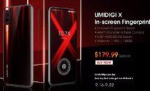 RAM4GB/128GBな6.35型『UMIDIGI X』が19,719円に、数量限定キャンペーン