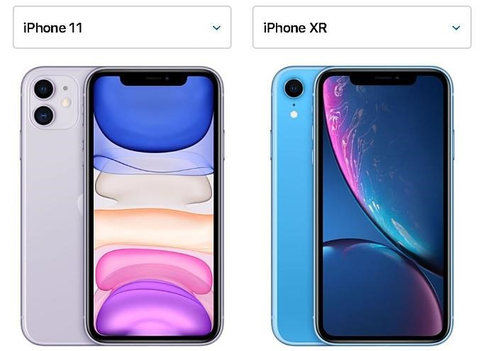 iPhone11-vs-iPhoneXR