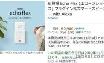 今度は『Echo Flex』が人気で在庫切れに、人気の理由を考える