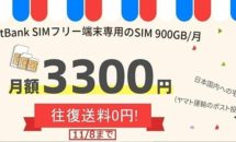 月間900GBで月額3300円の格安SIM『iVideo』は使えるか、調査編