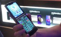 次世代スマホの原型か、Motorola razrのハンズオン動画・レビュー