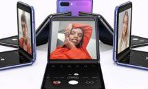 Galaxy Z Flip発表、初のガラス折り畳みなどスペック・価格