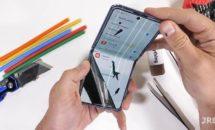 『Galaxy Z Flip』の分解レポート、畳めるガラスの場所が判明
