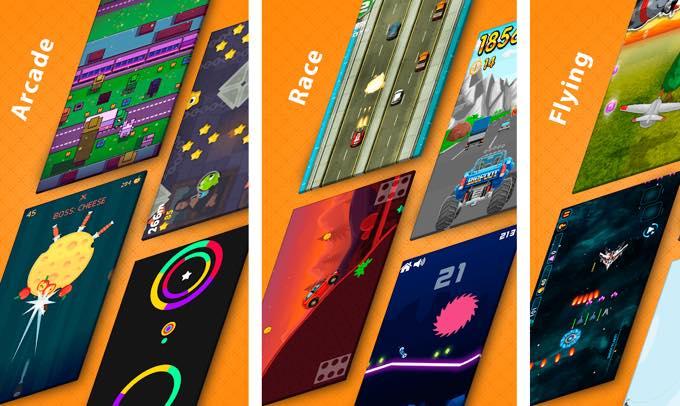 Android app com figri minigamespro