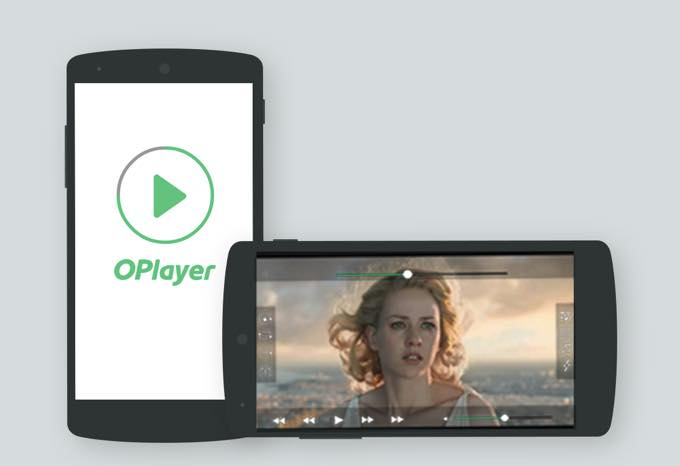 Android app com olimsoft android oplayer pro